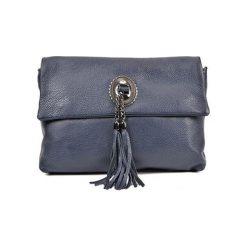 Torebka w kolorze granatowym - (S)32 x (W)24,4 x (G)13 cm. Niebieskie torebki klasyczne damskie Bestsellers bags, w paski, z materiału. W wyprzedaży za 229,95 zł.