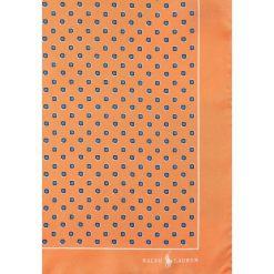 Krawaty męskie: Polo Ralph Lauren NEATS SQUARE  Poszetka orange