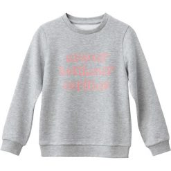 """Bluzy dziewczęce rozpinane: Bluza z napisem """"amour bonheur copines"""" 3-12 lat"""