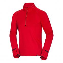 Northfinder Bluza Męska Kayson Red Xl. Czerwone bluzy męskie rozpinane marki KALENJI, m, z elastanu, z długim rękawem, długie. Za 195,00 zł.