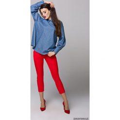Bluzki asymetryczne: Bluzka z wysokim mankietem Gemma