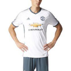 Adidas Koszulka męska MUFC 3 JSY biała r. S (AI6690). Białe koszulki do piłki nożnej męskie marki Adidas, m. Za 300,00 zł.