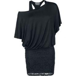 Black Premium by EMP Hold On Loosely Sukienka czarny. Czarne sukienki koronkowe marki Black Premium by EMP, xxl, w koronkowe wzory, oversize. Za 144,90 zł.