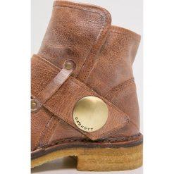 Ca'Shott Ankle boot camel. Brązowe buty zimowe damskie Ca'Shott, z materiału. Za 669,00 zł.