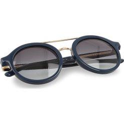 Okulary przeciwsłoneczne BOSS - 0853/S VQM. Zielone okulary przeciwsłoneczne damskie lenonki marki Boss. W wyprzedaży za 719,00 zł.