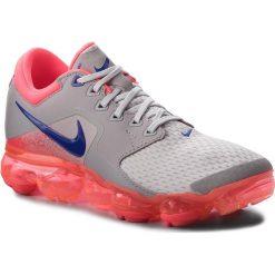 Buty NIKE - Air Vapormax AH9045 008 Vast Grey/Ultramarine. Szare buty do biegania damskie Nike, z materiału. W wyprzedaży za 559,00 zł.