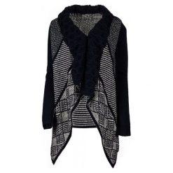 Desigual Sweter Damski Menta Xs Ciemnoniebieski. Czarne swetry klasyczne damskie Desigual, xs. W wyprzedaży za 347,00 zł.