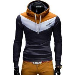 BLUZA MĘSKA Z KAPTUREM ARTURO - GRAFITOWA. Szare bluzy męskie rozpinane Ombre Clothing, m, z bawełny, z kapturem. Za 79,00 zł.