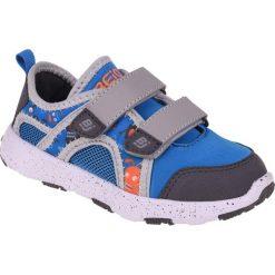 Buciki niemowlęce: BEJO Buty dziecięce Printo Kids niebiesko-szare r. 22