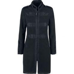 Vive Maria Chic Classic Coat Płaszcz damski czarny. Czarne płaszcze damskie Vive Maria, m, moro, militarne. Za 324,90 zł.