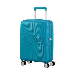 Walizka Spinner Soundbox niebieska (32G-01-001). Niebieskie walizki marki Samsonite. Za 372,96 zł.