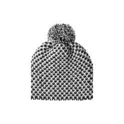 Czapka hauer POP. Czarne czapki zimowe damskie marki Hauer, z nadrukiem, z polaru. Za 59,00 zł.