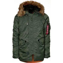 Płaszcze przejściowe męskie: Alpha Industries Płaszcz zimowy sage green