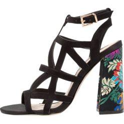 Sandały damskie: Miss Selfridge COBRA Sandały na obcasie black