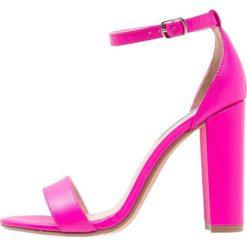 Sandały damskie: Steve Madden CARRSON Sandały na obcasie pink