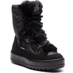 Śniegowce MANITU - 991220 Schwarz 1. Czarne buty zimowe damskie Manitu, z materiału. Za 399,00 zł.