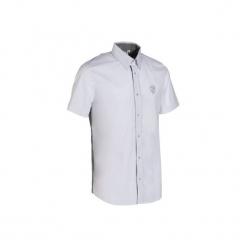 Koszula na zawody męska. Czarne koszule męskie na spinki marki Reserved. Za 99,99 zł.