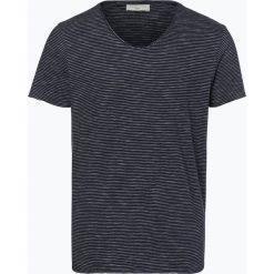 Selected - T-shirt męski – New Merce, niebieski. Szare t-shirty męskie marki Selected, l, z materiału. Za 89,95 zł.