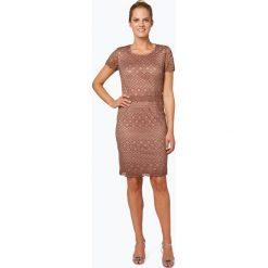 Esprit Collection - Damska sukienka koktajlowa, różowy. Czerwone sukienki hiszpanki Esprit Collection, w koronkowe wzory, z koronki. Za 379,95 zł.