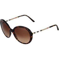 Burberry Okulary przeciwsłoneczne brown. Brązowe okulary przeciwsłoneczne damskie aviatory Burberry. Za 809,00 zł.