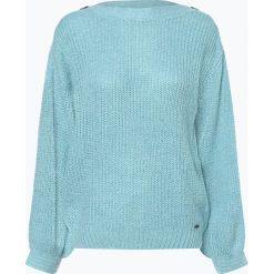 Pepe Jeans - Sweter damski z dodatkiem moheru – Dina, niebieski. Szare swetry klasyczne damskie marki Pepe Jeans, m, z jeansu, z okrągłym kołnierzem. Za 229,95 zł.