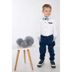 Koszule chłopięce: Biała koszula chłopięca z muszką NDZ7180