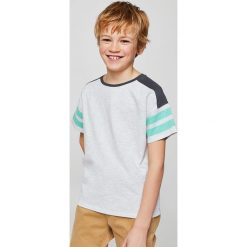 Odzież chłopięca: Mango Kids – T-shirt dziecięcy School 110-164 cm
