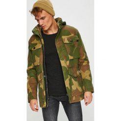 G-Star Raw - Kurtka. Brązowe kurtki męskie przejściowe marki G-Star RAW, l, z bawełny, retro. W wyprzedaży za 1099,00 zł.