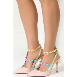 Różowe Sandały As Times Goes By. Czerwone sandały damskie vices, na wysokim obcasie. Za 99,99 zł.