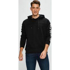 Lee - Bluza. Czarne bluzy męskie rozpinane marki Lee, l, z nadrukiem, z bawełny, z kapturem. Za 259,90 zł.