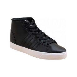 Buty sportowe damskie: Adidas Buty sportowe Cloudfoam Daily QT Mid czarne r.  40 2/3 (AW4012)