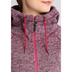 Berghaus EASTON Kurtka z polaru dark cerise marl. Czerwone kurtki sportowe damskie Berghaus, z materiału. W wyprzedaży za 219,50 zł.