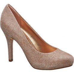 Szpilki: szpilki damskie Catwalk złote