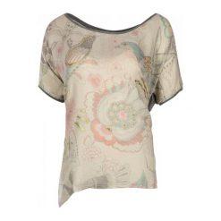 Desigual Desigual T-Shirt Damski Clarette S Szary. Szare t-shirty damskie Desigual, m. W wyprzedaży za 189,00 zł.