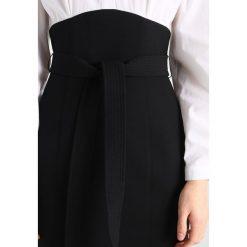 Sukienki hiszpanki: Karen Millen LAYERED CORSET SHIRT COLLECTION Sukienka koszulowa black/white