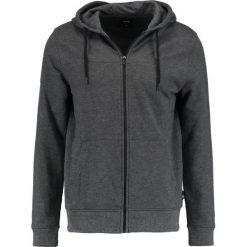 Bejsbolówki męskie: Burton Menswear London HOOD Bluza rozpinana grey