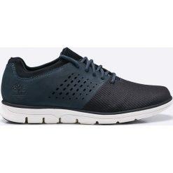 Timberland - Buty Bradstreet. Czarne buty skate męskie Timberland, z materiału, na sznurówki. W wyprzedaży za 339,90 zł.