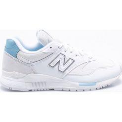 New Balance - Buty WL840WS. Szare buty sportowe damskie New Balance, z materiału. W wyprzedaży za 299,90 zł.