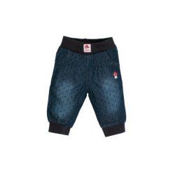 SALT AND PEPPER Baby Glück Girls Spodnie jeans blue denim. Niebieskie spodnie chłopięce marki bonprix. Za 95,00 zł.