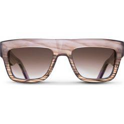 """Okulary przeciwsłoneczne """"Desert Fade Alex"""" w kolorze beżowo-brązowym. Brązowe okulary przeciwsłoneczne damskie lenonki marki Triwa, z tworzywa sztucznego. W wyprzedaży za 259,95 zł."""