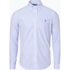 Polo Ralph Lauren - Koszula męska, niebieski. Niebieskie koszule męskie na spinki Polo Ralph Lauren, l, z dzianiny, z klasycznym kołnierzykiem. Za 529,95 zł.