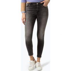 Review - Jeansy damskie, szary. Szare spodnie z wysokim stanem Review, z jeansu. Za 179,95 zł.