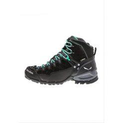 Salewa ALP TRAINER MID GTX Buty trekkingowe black out/agata. Czarne buty trekkingowe damskie Salewa, z gumy. Za 799,00 zł.