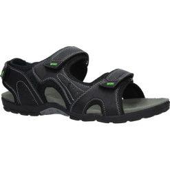 Czarne sandały na rzepy Casu 9S-TA86289. Czarne sandały męskie Casu, na rzepy. Za 59,99 zł.