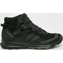 Adidas Performance - Obuwie Terrex Tivid Mid Cp. Brązowe buty trekkingowe męskie marki adidas Performance, z materiału, outdoorowe, climaproof (adidas). Za 549,90 zł.