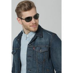RayBan Okulary przeciwsłoneczne grey. Szare okulary przeciwsłoneczne męskie wayfarery marki Ray-Ban. Za 489,00 zł.