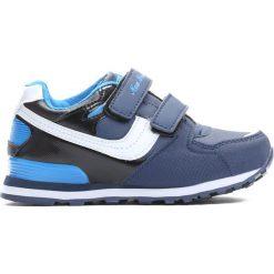 Granatowe Buty Sportowe Importance. Niebieskie buty sportowe chłopięce Born2be, z materiału, z okrągłym noskiem. Za 59,99 zł.