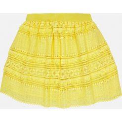 Mayoral - Spódnica dziecięca 128-167 cm. Żółte minispódniczki Mayoral, z materiału, proste. Za 129,90 zł.
