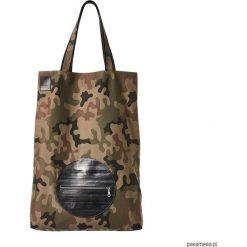 Shopper bag damskie: mili shopper silver Xl