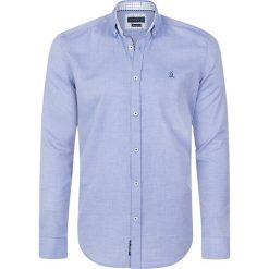 """Koszule męskie na spinki: Koszula """"Carnoustie"""" w kolorze błękitnym"""